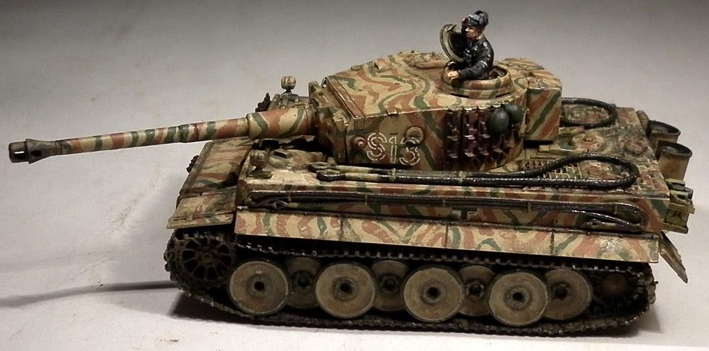 Модель истребителя танков sd kfz 138 marder iii